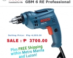 Маркет | Obaldet | Bosch Drill GBM 6 RE Professional